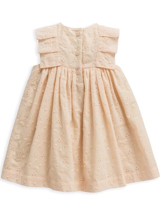 فستان بتطريز إنجليزي image number 2