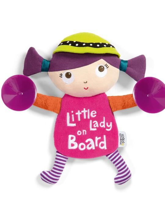 شارة Little Lady On Board - Babyplay image number 1