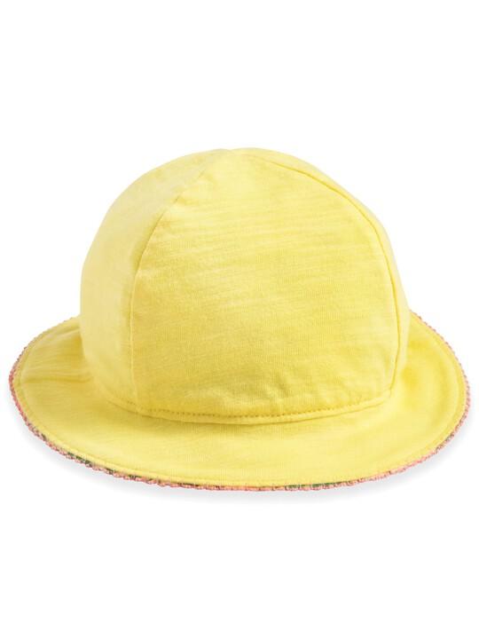 قبعة بوجهين مزينة بنقشة استوائية image number 2