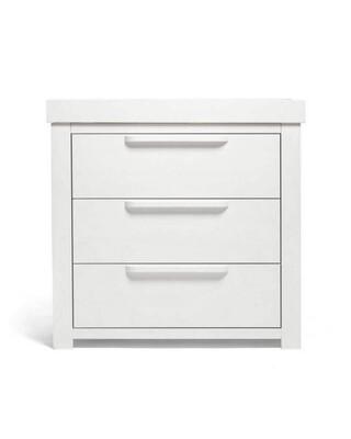 خزانة أدراج وطاولة تغيير فرانكلين -أبيض