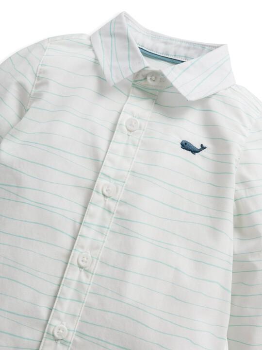 قميص بنقشة أمواج image number 5