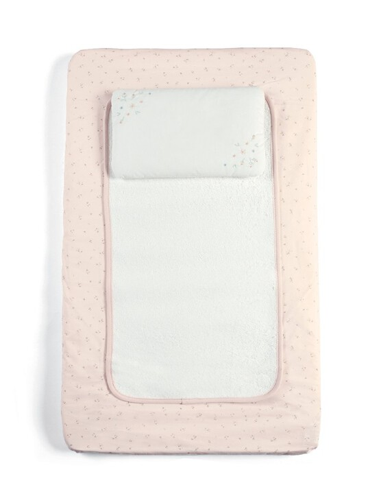 Welcome to the World Luxury Changing Mattress - Pink image number 1