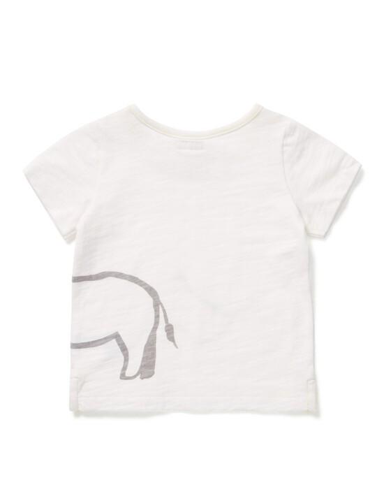 تي شيرت بطبعة وحيد القرن image number 2