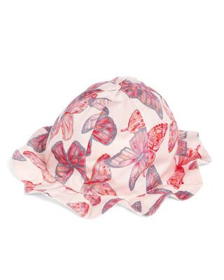 قبعة بنقشة فراشات