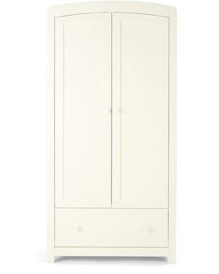 خزانة ملابس ميا - أبيض
