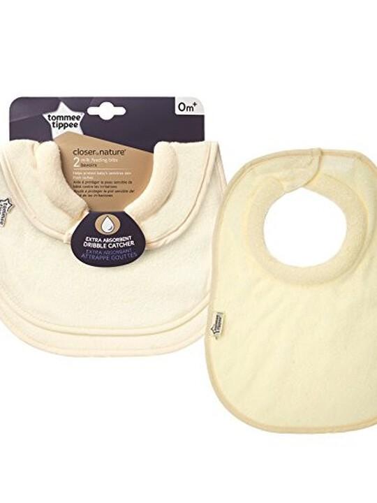 صدرية الرضاعة من Tommee Tippee (قطعتان) - لون أصفر image number 1