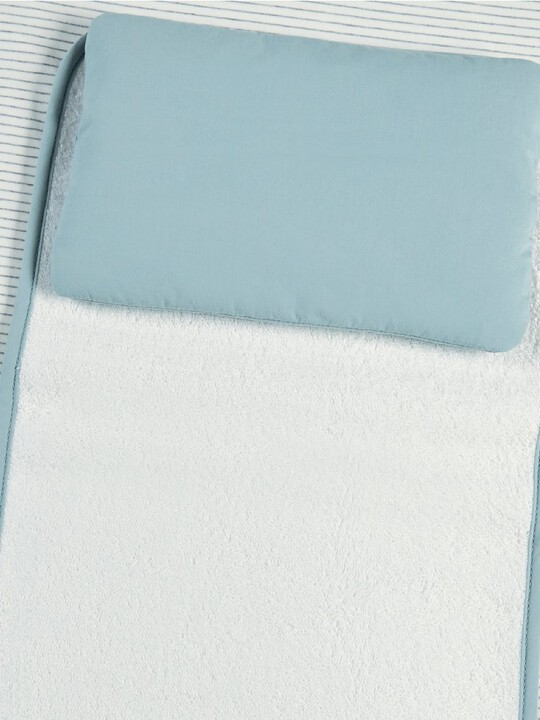 Welcome to the World Luxury Changing Mattress - Blue image number 2