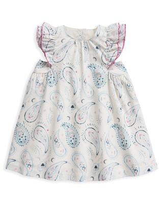 فستان بنقشة بيزلي
