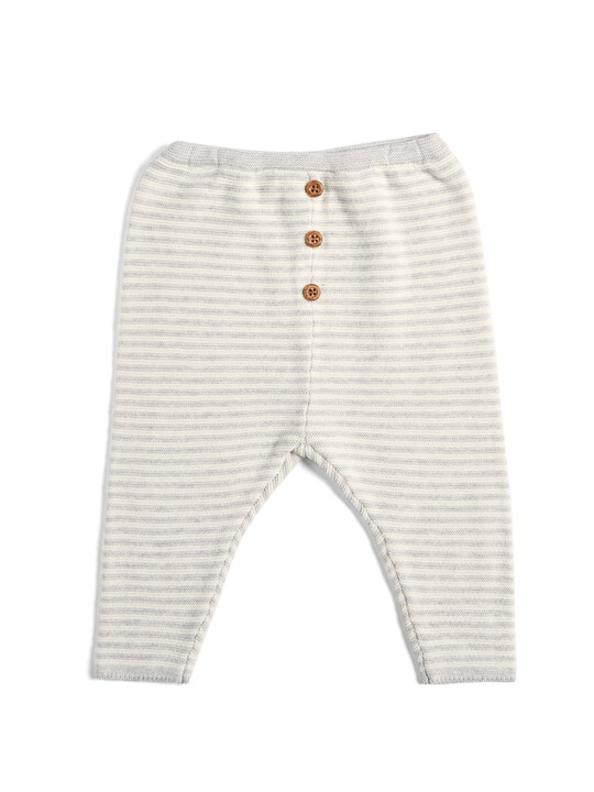 Striped Knitted Set - 2 Piece image number 4