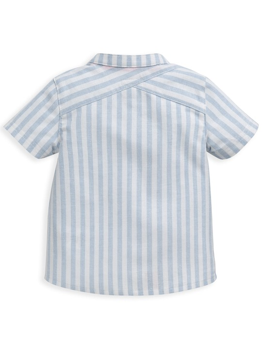 قميص منسوج مخطط image number 2