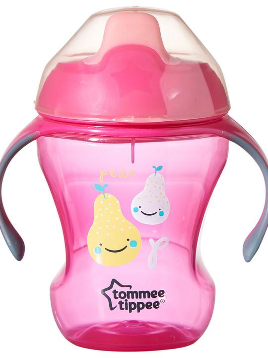 كوب إكسبلورا سهل الاستخدام للأطفال من عمر 7 أشهر ويزيد من تومي تيبي - باللون الوردي image number 2