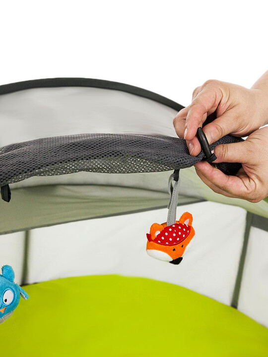 خيمة لعب وسرير متنقل 2 في 1 نيدو ميني من بيبي لوف image number 5
