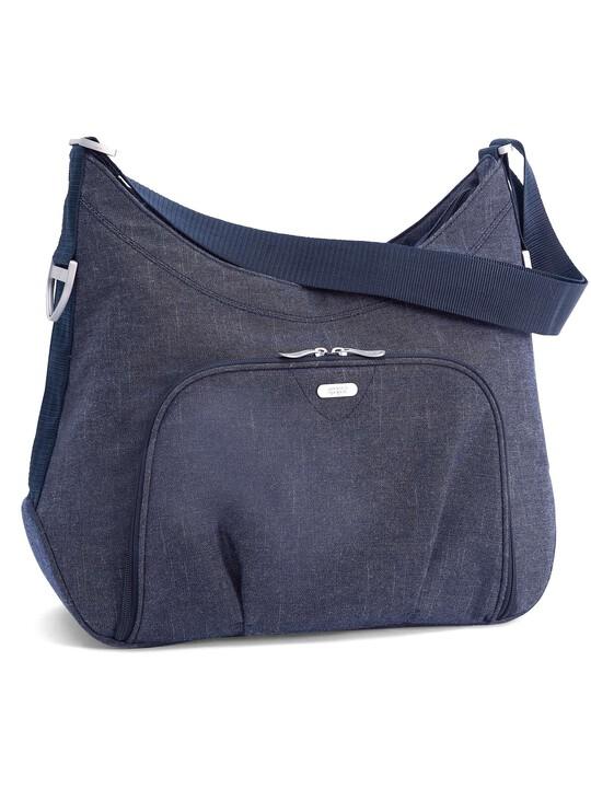 حقيبة تبديل الملابس المحمولة على الكتف Ellis من قماش الدنيم image number 1