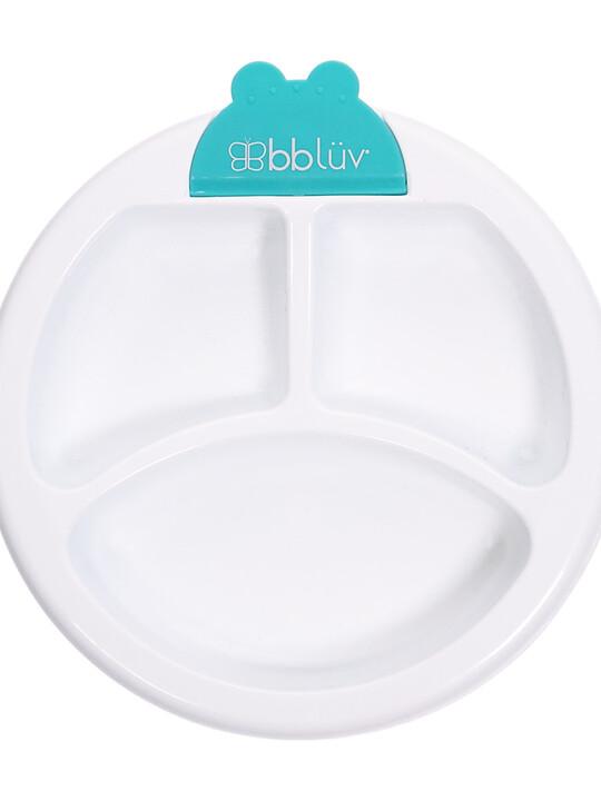 طبق للحفاظ على حرارة الطعام بلاتو من بيبي لوف - أزرق image number 7