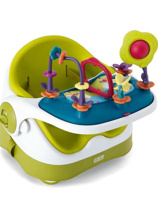 مقعد الطفل مع لوحة الألعاب - ليموني image number 2
