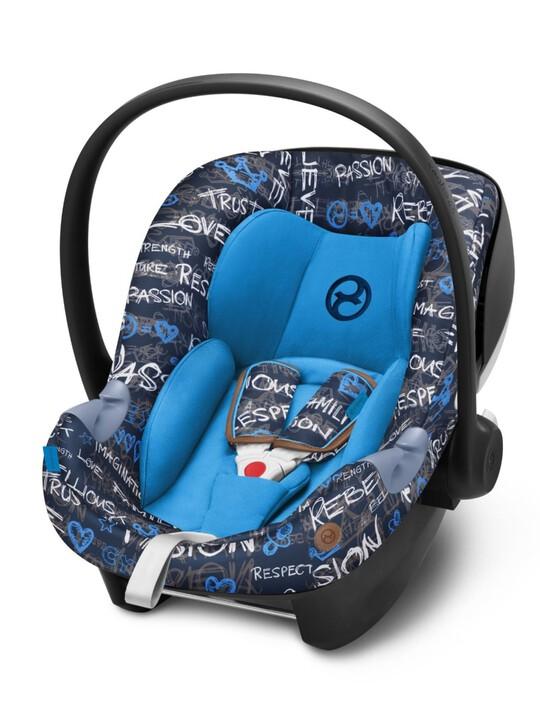 مقعد السيارة سايبكس آتون ام آي سايز - أزرق image number 1