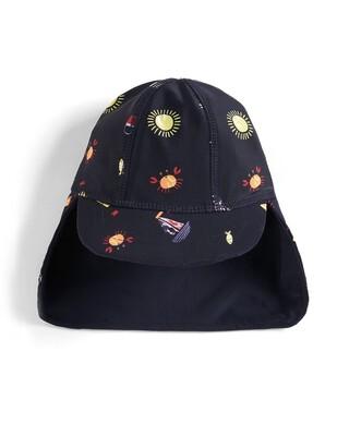 قبعة سباحة مطبوعة