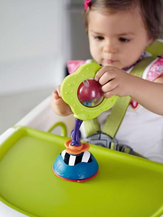 لعبة المقعد المرتفع من Babyplay - الوردة الهزازة image number 3