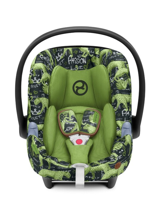 مقعد السيارة سايبكس آتون ام آي سايز - أخضر image number 2