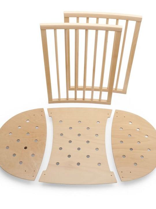 طقم تمديد السرير من خامات طبيعية Stokke® Sleepi ™ image number 1