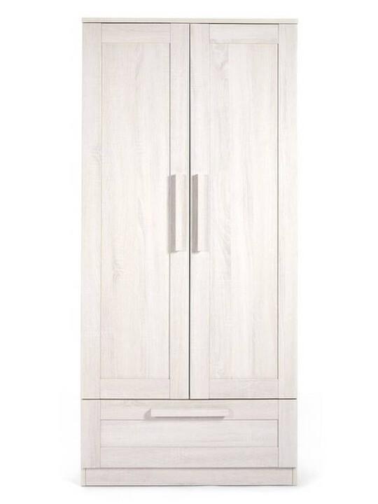 خزانة أطلس - لون أبيض شاحب image number 3
