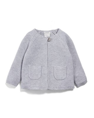 Knitted Cardigan - White