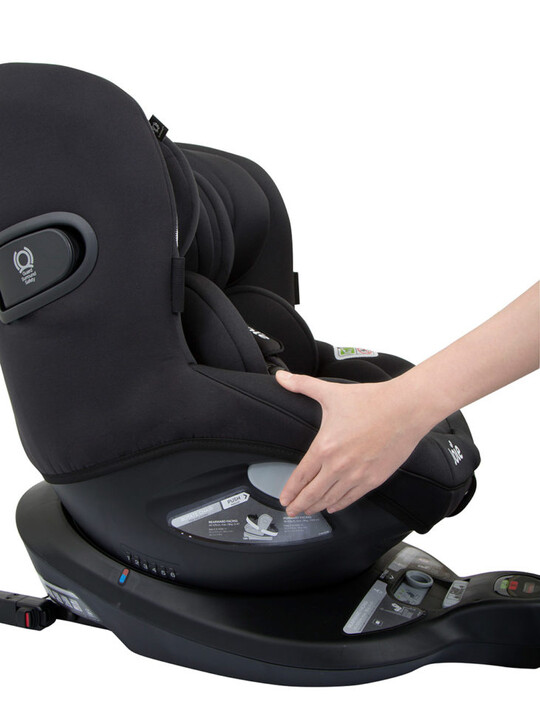 مقعد سيارة آي سبين 360 من جوي للأطفال منذ الولادة/ 1 - أسود image number 2