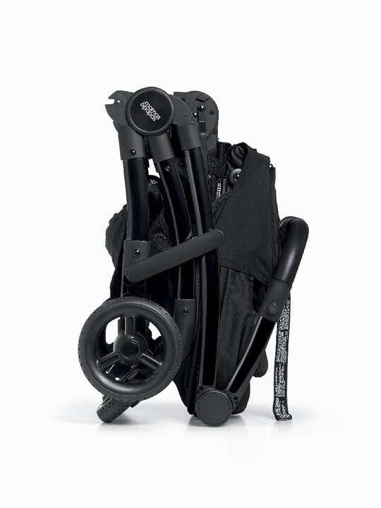 مجموعة مقعد عربة أطفال ايرو لحديثي الولادة - أسود image number 5