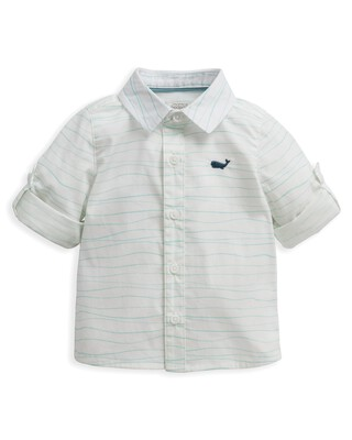 قميص بنقشة أمواج