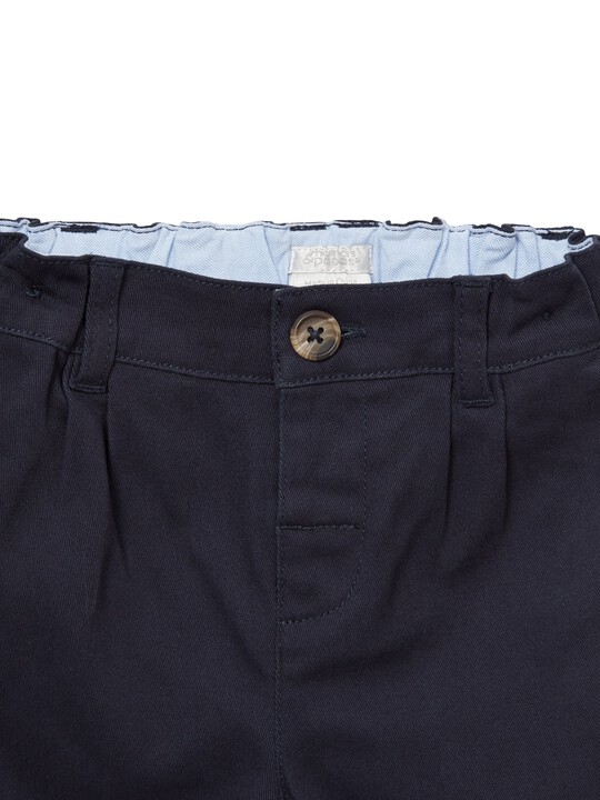 Navy Chino Shorts image number 3