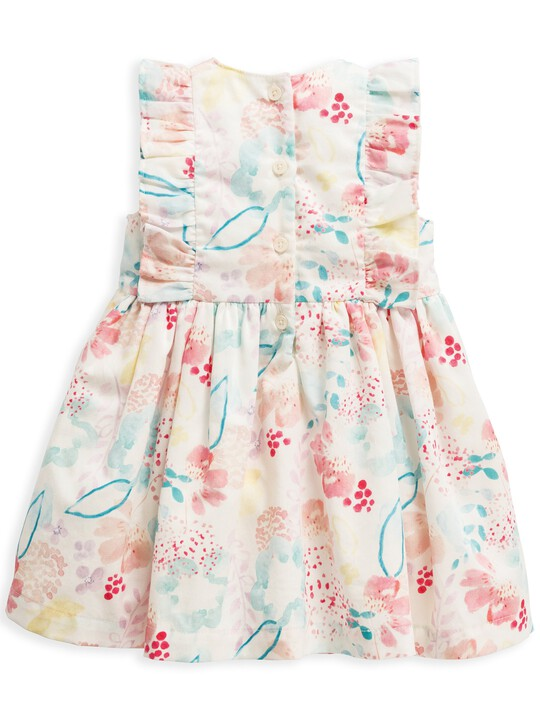 فستان بنقشة ألوان مائية image number 2