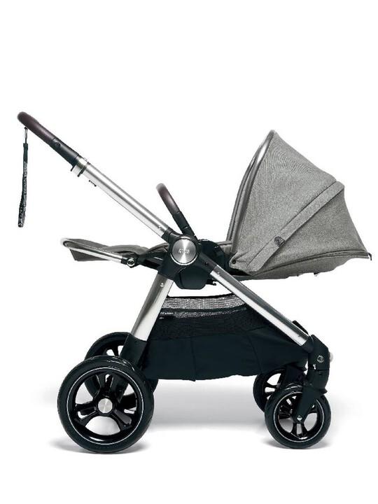 عربة أطفال أوكارو - رمادي منسوج image number 3