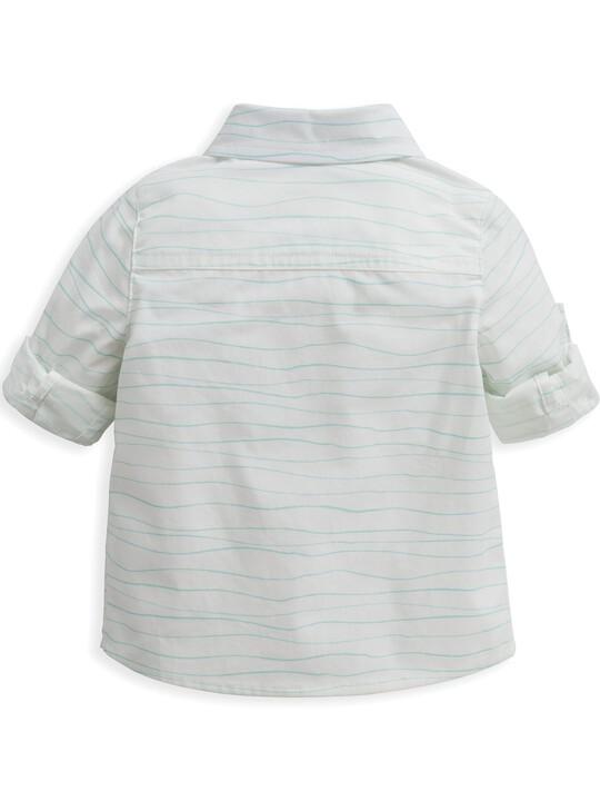 قميص بنقشة أمواج image number 4
