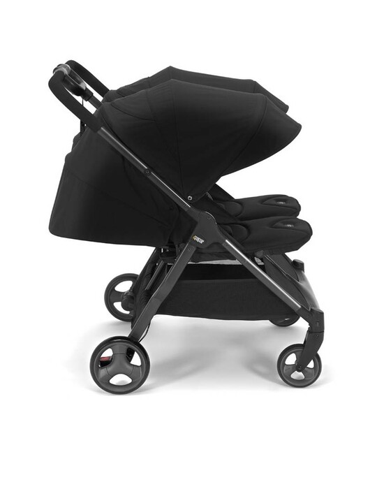 عربة أطفال أرماديللو مزدوجة قابلة للطي - أسود image number 3