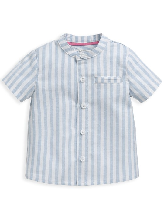 قميص منسوج مخطط image number 1