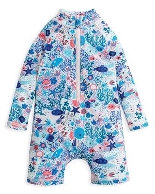 لباس سباحة بنقشة بحرية