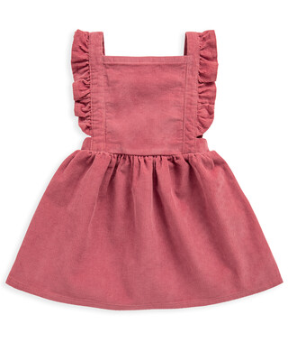 CORD PINNY DRESS 3-6