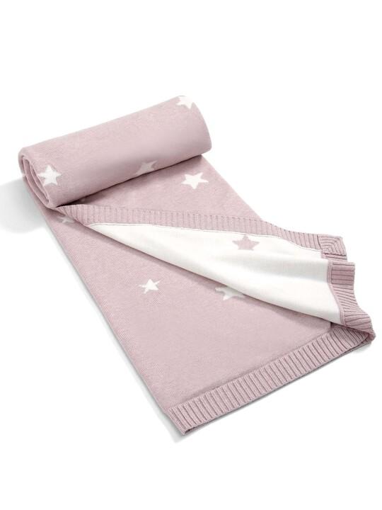 بطانيات صغيرة منسوجة للبنات من Millie & Boris - 70 × 90 سم image number 1