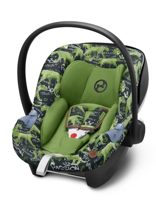 مقعد السيارة سايبكس آتون ام آي سايز - أخضر image number 1